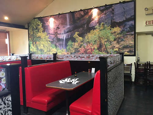 new island sushi interior